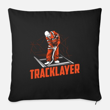 Track Work track layers - Sofa pillow with filling 45cm x 45cm