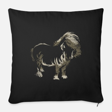 Love Island Shetland pony gift - Sofa pillow with filling 45cm x 45cm