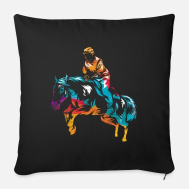Equestrian Orientation gift - Sofa pillow with filling 45cm x 45cm