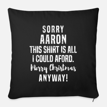 Aarón Aaron Christmas present - Sofa pillow with filling 45cm x 45cm