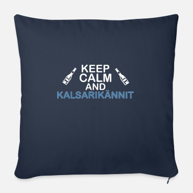 Calm Underwear keep calm and Kalsarikännit - Sofa pillow with filling 45cm x 45cm