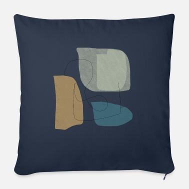 Form Underwear Minimalistic abstract background N3 - Sofa pillow with filling 45cm x 45cm