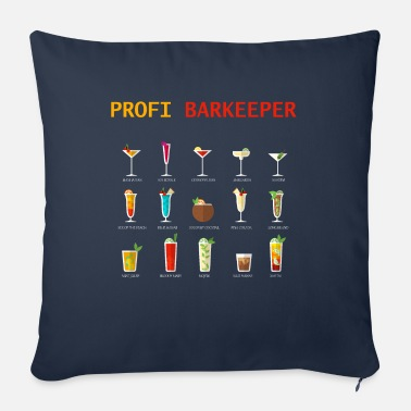 Bartender Professional bartender - Sofa pillow with filling 45cm x 45cm