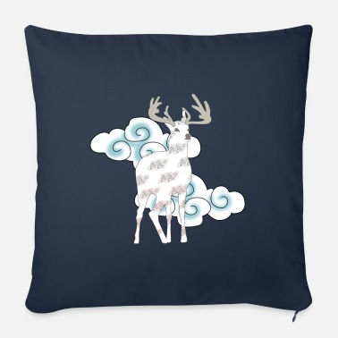 Mythical Mythical deer - Sofa pillow with filling 45cm x 45cm