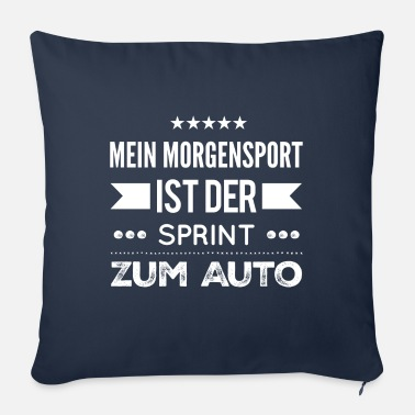 Sports Sports sports muffle - Sofa pillow with filling 45cm x 45cm