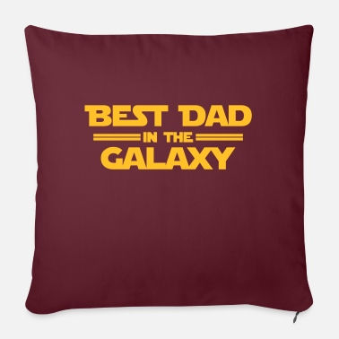 Tv Best Dad in the Galaxy - Sofakissen mit Füllung 44 x 44 cm
