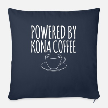 Pod Hawaiian Coffee Powered By Kona Coffee print - Sofa pillow with filling 45cm x 45cm