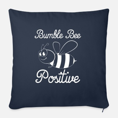 Bumble Bee Bumble Bee Positive - Sofa pillow with filling 45cm x 45cm