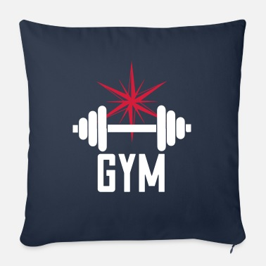 Gym Gym - gym design - Sofa pillow with filling 45cm x 45cm