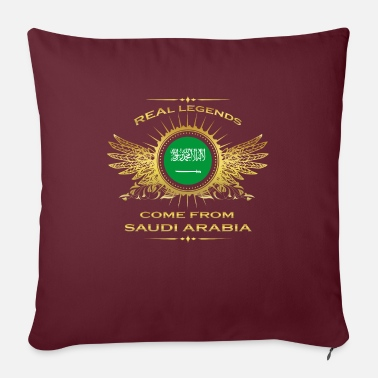 Legends born gift home in SAUDI ARABIA - Sofa pillow with filling 45cm x 45cm