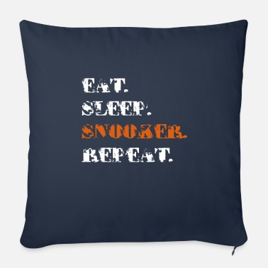 Snooker snooker - Sofa pillow with filling 45cm x 45cm