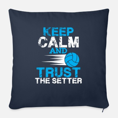 Association keep calm volleyball - Coussin et housse de 45 x 45 cm