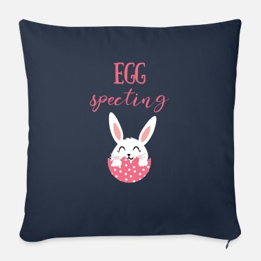 Easter Bunny Easter - Easter Bunny - Easter Egg - Sweet - Comic - Sofa pillow with filling 45cm x 45cm