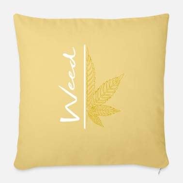 No Smoking Weed / cannabis / cannabis leaf / hemp / smoking - Sofa pillow with filling 45cm x 45cm
