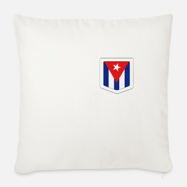 National Pride Cuba National Pride - Sofa pillow with filling 45cm x 45cm