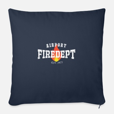 Airport Fire Department - Soffkudde med stoppning 44 x 44 cm