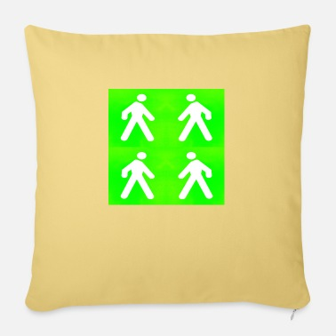 The Green Walking in the green - Sofa pillow with filling 45cm x 45cm