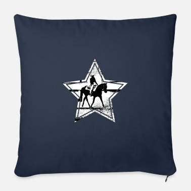 Pleasure riding star - Sofa pillow with filling 45cm x 45cm