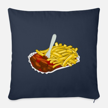 Fast Food fast food - Sofa pillow with filling 45cm x 45cm