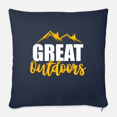 Outdoor Great outdoors - Coussin et housse de 45 x 45 cm