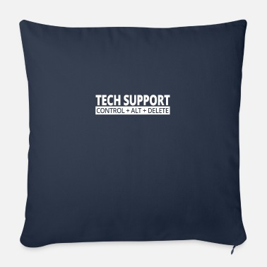 Tech Support Tech support - Sofa pillow with filling 45cm x 45cm