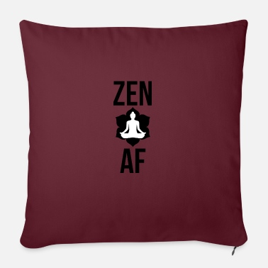 Om Zen AF Yoga - Sofa pillow with filling 45cm x 45cm