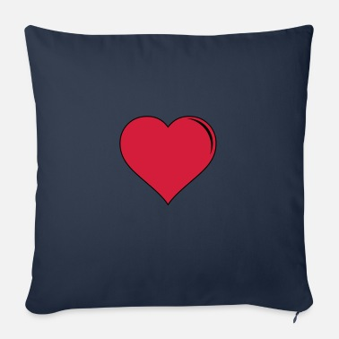 Form heart - Sofa pillow with filling 45cm x 45cm