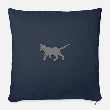 Comic cat 02 - Sofa pillow with filling 45cm x 45cm