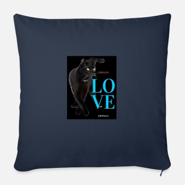 Fond Of Animals Love forever animals - Sofa pillow with filling 45cm x 45cm