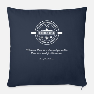 Whitewater Whitewater, whitewater kayak, canoe - Sofa pillow with filling 45cm x 45cm