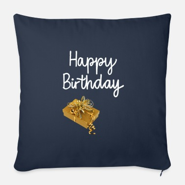 Birthday Present Birthday presents - Sofa pillow with filling 45cm x 45cm
