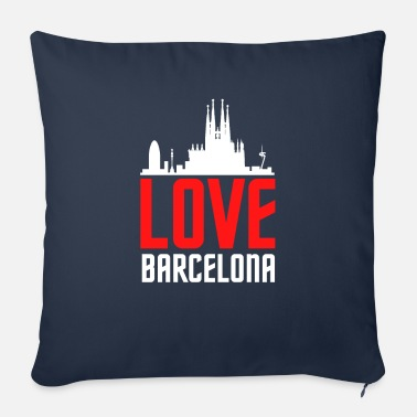 Catalonia Love Barcelona Catalunya gift idea - Sofa pillow with filling 45cm x 45cm