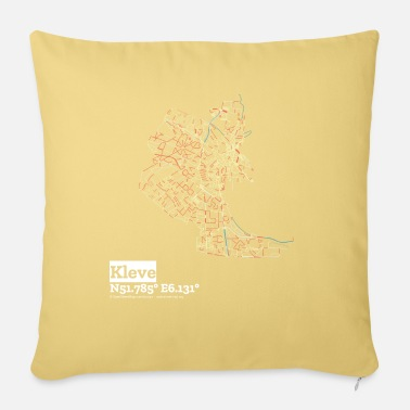 New Kleve Basic Pastels - Sofa pillow with filling 45cm x 45cm