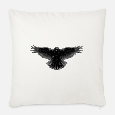 Raven Raven raven bird - Sofa pillow with filling 45cm x 45cm