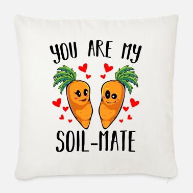 Carrot Carrot carrot - Sofa pillow with filling 45cm x 45cm