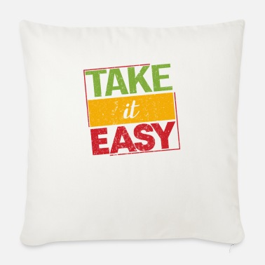 Dub Reggae Take It Easy Proud Ragga Gift - Cuscino da divano 44 x 44 cm con riempimento