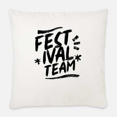 I Love Festival team - Sofa pillow with filling 45cm x 45cm