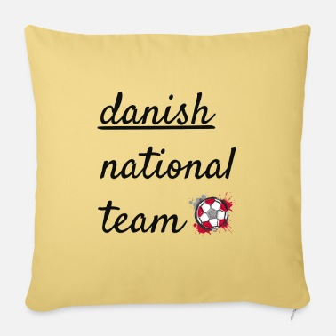 National Team Danish national team - Sofa pillow with filling 45cm x 45cm