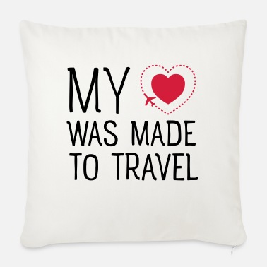 Travel Travel - Sofa pillow with filling 45cm x 45cm