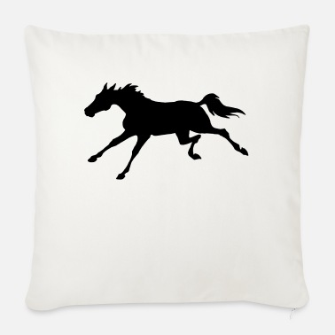 Gallop Galloping Horse - Sofa pillow with filling 45cm x 45cm