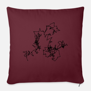 Motion Brownian Motion - Sofa pillow with filling 45cm x 45cm