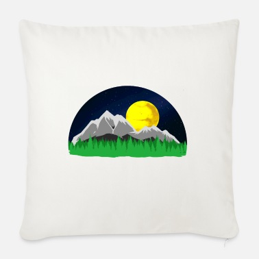 Mountains Mountains Mountains mountains - Sofa pillow with filling 45cm x 45cm