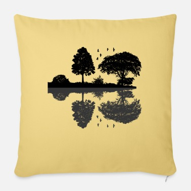 Silhouette Scenic silhouette / silhouette - Sofa pillow with filling 45cm x 45cm