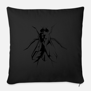 Fly-insect fly flies fly insect insects symbol - Sofa pillow with filling 45cm x 45cm