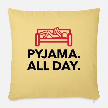 Children S Room Throughout the day in your pajamas! - Sofa pillow with filling 45cm x 45cm