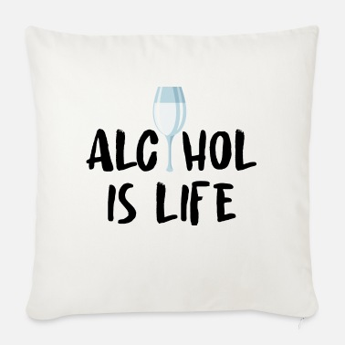 Alcoholism Alcohol alcohol - Sofa pillow with filling 45cm x 45cm
