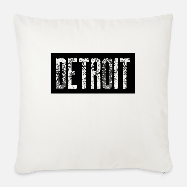 Down With Detroit Detroit USA Americas Cities City Michigan detroit - Sofa pillow with filling 45cm x 45cm