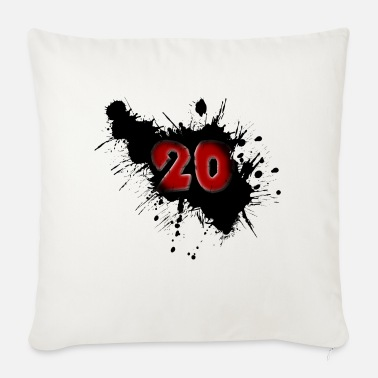 Date Of Birth Date of birth 20 years - Sofa pillow with filling 45cm x 45cm