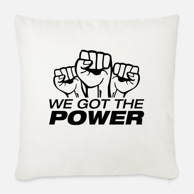 996 we_got_the_power_fa1 - Sofa pillow with filling 45cm x 45cm