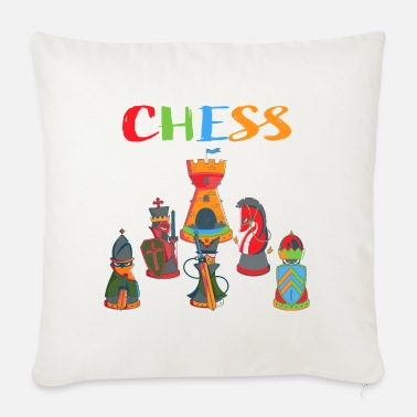 Chess Chess Chess chess pieces - Sofa pillow with filling 45cm x 45cm